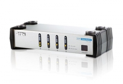 VS461-AT-G  — 4-портовый DVI-видеопереключатель (Video  Switch)
