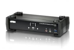 CS1922M-AT-G — двухпортовый DisplayPort USB 3.0 KVMP™-переключатель с поддержкой 4K и MST (KVMP Switch)
