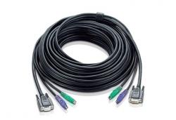 2L-1010P — КВМ-кабель с интерфейсами PS/2, VGA (10м)