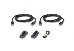2l-7d02udpx5 — комплект кабелей USB, DisplayPort, Dual Display для защищенного KVM-переключателя (1.8м) 2L-7D02UDPX5