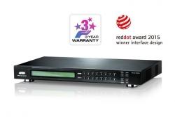 VM5808D-AT-G  — Матричный DVI-коммутатор 8x8 с функцией масштабирования (Matrix audio/video switch).
