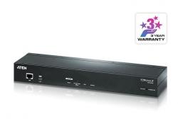 KN1000A-AX-G KVM IP удлинитель (в среде WAN) с функцией Virtual Media, интерфейсами VGA, PS/2, USB и управляемой силовой розеткой.