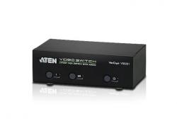 VS0201-AT-G — 2-портовый VGA-видеопереключатель (Video Switch) с поддержкой звука