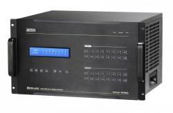VM1600A-AT-G — Шасси модульного матричного аудио/видео коммутатора 16x16 с функциями масштабирования изображений и формирования видеостен (Modular matrix audio/video switch