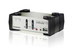 CS1732B-A7-G — 2-х портовый VGA PS/2 / USB 2.0 KVMP-переключатель с OSD меню