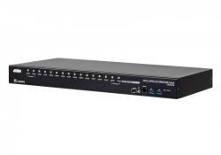CS18216-AT-G — 16-портовый, USB 3.0 4K HDMI KVM-переключатель