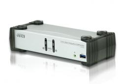 CS1912-AT-G — двухпортовый  DisplayPort USB 3.0 KVMP™-переключатель (KVMP Switch)