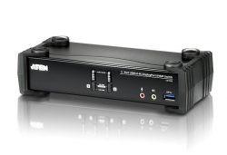 CS1922-AT-G — двухпортовый DisplayPort USB 3.0  KVMP™-переключатель с поддержкой 4K (KVMP Switch)