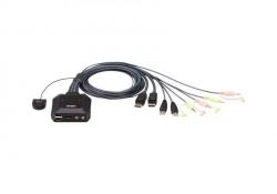 CS22DP-AT — 2-портовый DisplayPort, USB, KVM-переключатель
