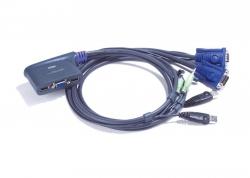 CS62US-A7 — 2-х портовый VGA USB KVMP-переключатель