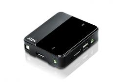CS782DP-AT — 2-портовый, USB, DisplayPort, KVM-коммутатор с поддержкой 4K