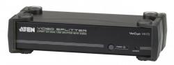 VS172-A7-G  2-портовый разветвитель (Video splitter) с двухканальным DVI и поддержкой звука