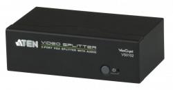 VS0102-AT-G 2-портовый VGA-разветвитель (Video Splitter) с поддержкой звука