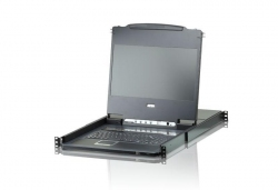 CL6708MW-ATA-RG 8-портовый КВМ-коммутатор с широкоэкранным ЖК-дисплеем и интерфейсом DVI