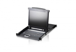 CL1016M-AT-RG 16-портовый PS/2, VGA, KVM-переключатель с ЖК-дисплеем