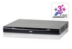 KN4124VA-AX-G 24-портовый KVM-переключатель (KVM Switch) KN4124VA с доступом по IP и поддержкой 1-локальной/4-удаленных консолей доступа
