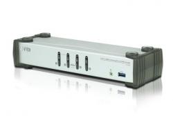 CS1914-AT-G 4-портовый DisplayPort USB 3.0 audio KVMP™-переключатель