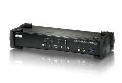 CS1924-AT-G 4-портовый DisplayPort USB audio 3.0  KVMP™-переключатель с поддержкой 4K (KVMP Switch)