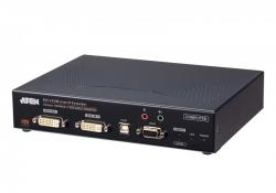 KE6940AiT-AX-G — DVI-I KVM-передатчик с доступом по IP и Интернет с поддержкой двух дисплеев (передатчик)