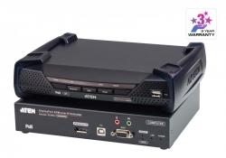 KE9952-AX — 4K KVM-удлинитель с доступом по IP, поддержкой одного DisplayPort-дисплея и функции PoE