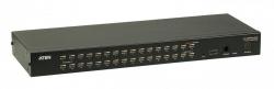 KH1532A-AX-G — 32-портовый КВМ-переключатель с подключением устройств по кабелю Cat 5