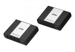 UEH4002A-AT-G — 4-портовый USB 2.0 удлинитель по кабелю Cat 5 (до 100м)