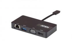 UH3232 Многопортовая мини-док-станция с портом USB-C