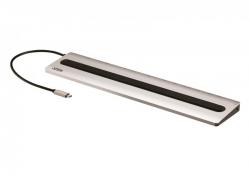 UH3237 — Многопортовая док-станция с портом USB-C и функцией сквозной передачи питания (Power Pass-Through)