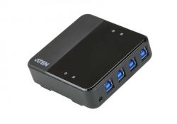 US3344 — 4-портовый USB 3.1 Gen1 коммутатор для совместного использования 4-х периферийных устройств