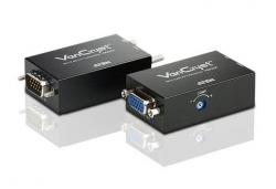VE022-AT-G Мини видео-удлинитель по кабелю Cat 5 и интерфейсами передачи звука, VGA (1280 x 1024@150м)