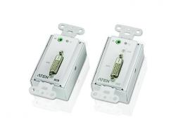 VE606-AT-G — DVI Over Cat 5 удлинитель по кабелю Cat 5  для установки в монтажную коробку скрытого монтажа (1920х1200@40м)