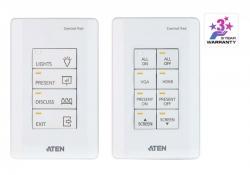 VK0100 —  Система управления ATEN – 8-кнопочный контроллер (стандарт US, 1 Gang)